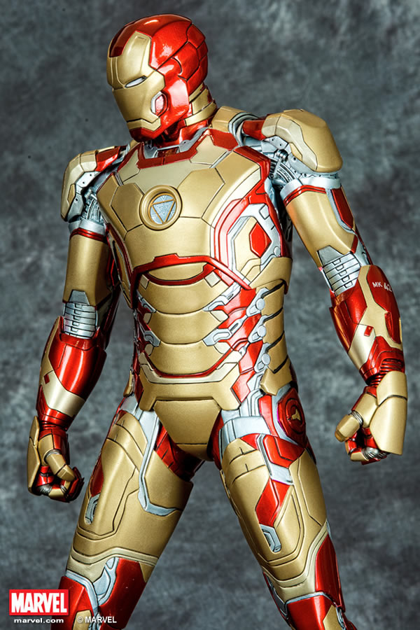 Premium Collectibles : Iron man MK XLII XM-iron-man-MK-XLII-premium-04