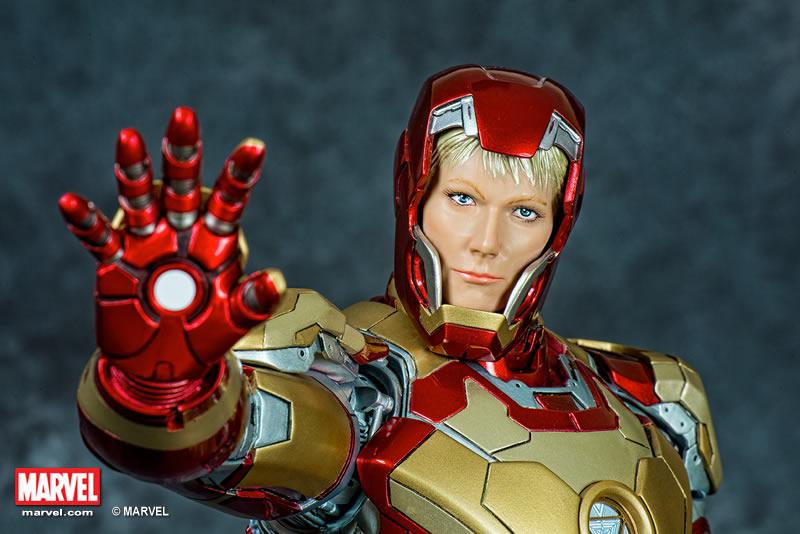 Premium Collectibles : Iron man MK XLII XM-iron-man-MK-XLII-premium-06