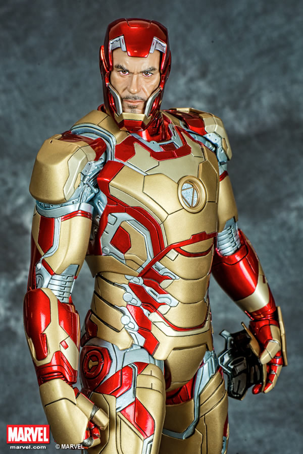 Premium Collectibles : Iron man MK XLII XM-iron-man-MK-XLII-premium-08