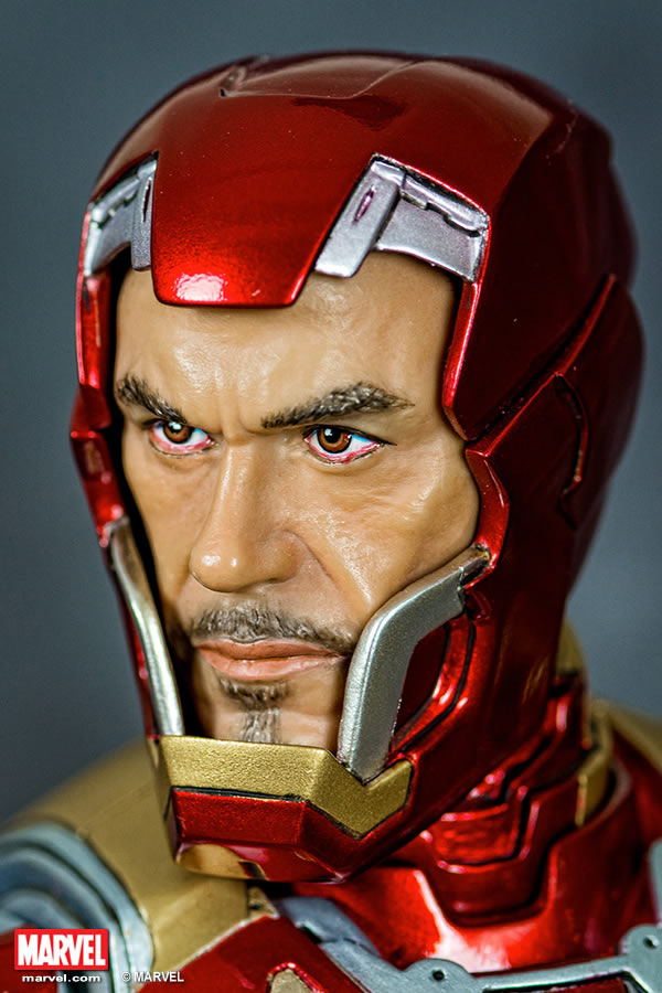 Premium Collectibles : Iron man MK XLII XM-iron-man-MK-XLII-premium-09
