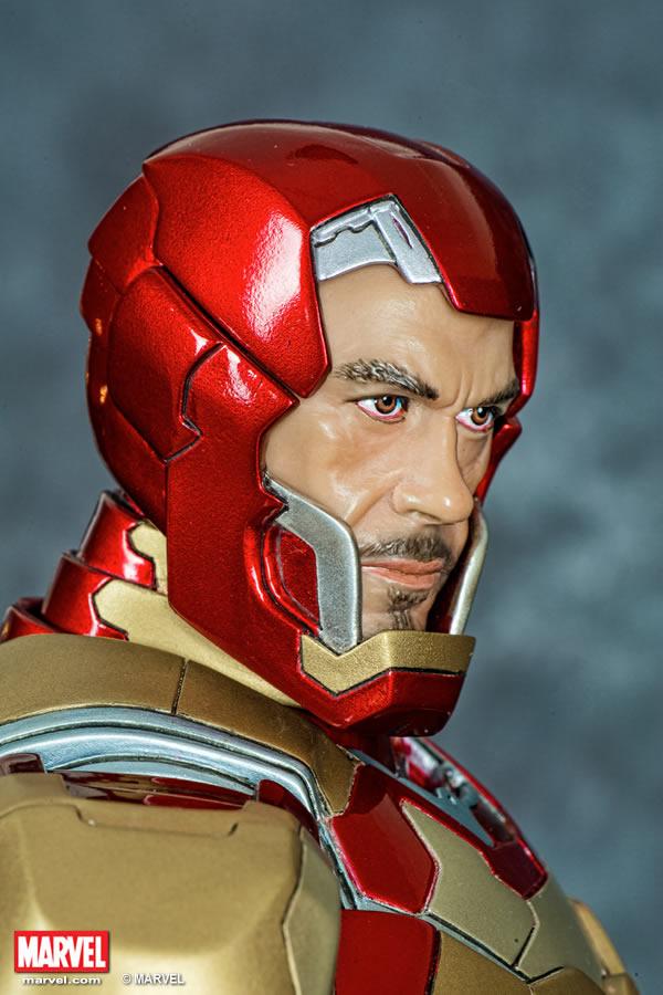 Premium Collectibles : Iron man MK XLII XM-iron-man-MK-XLII-premium-10