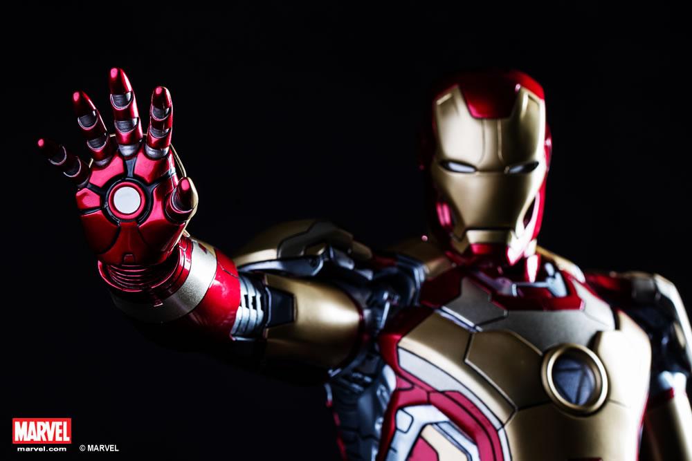 Premium Collectibles : Iron man MK XLII XM-iron-man-MK-XLII-premium-11