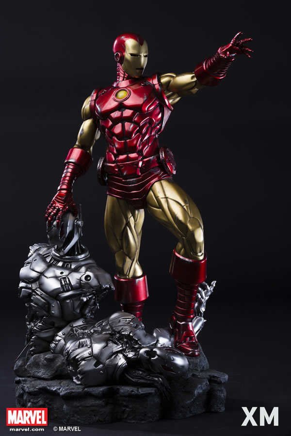 Premium Collectibles : Iron Man classic XM-iron-man-classic-premium-01