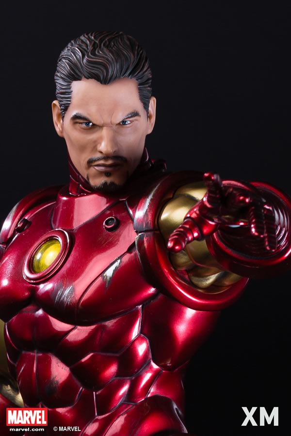 Premium Collectibles : Iron Man classic XM-iron-man-classic-premium-02
