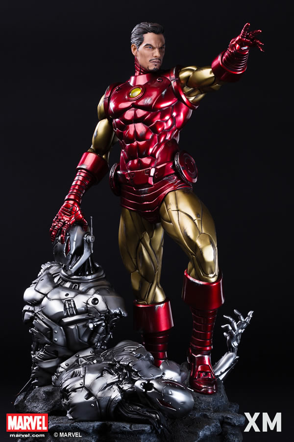 Premium Collectibles : Iron Man classic XM-iron-man-classic-premium-03