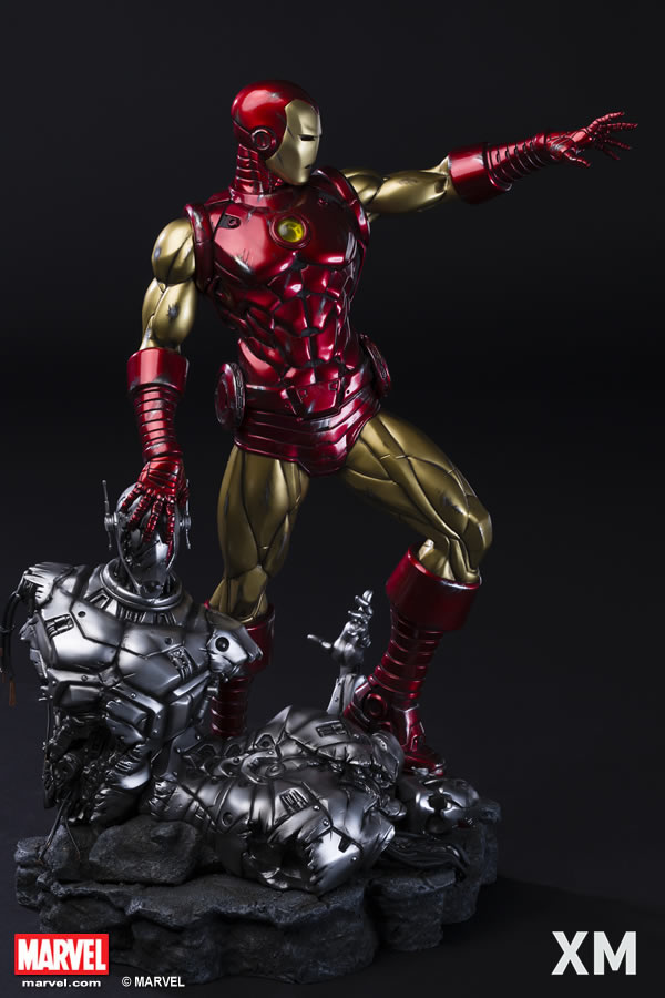 Premium Collectibles : Iron Man classic XM-iron-man-classic-premium-04