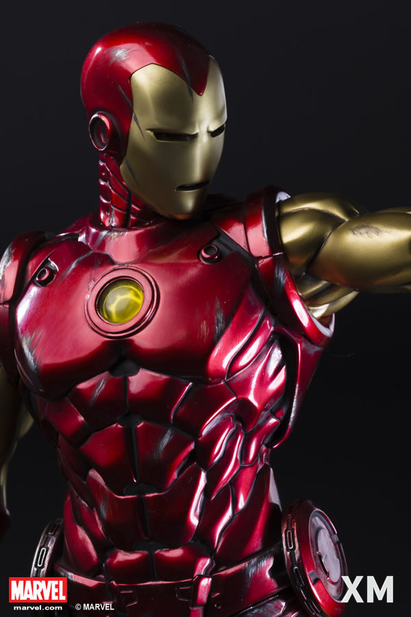 Premium Collectibles : Iron Man classic XM-iron-man-classic-premium-05
