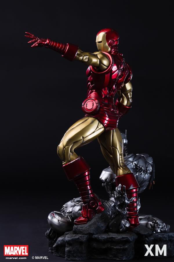 Premium Collectibles : Iron Man classic XM-iron-man-classic-premium-06