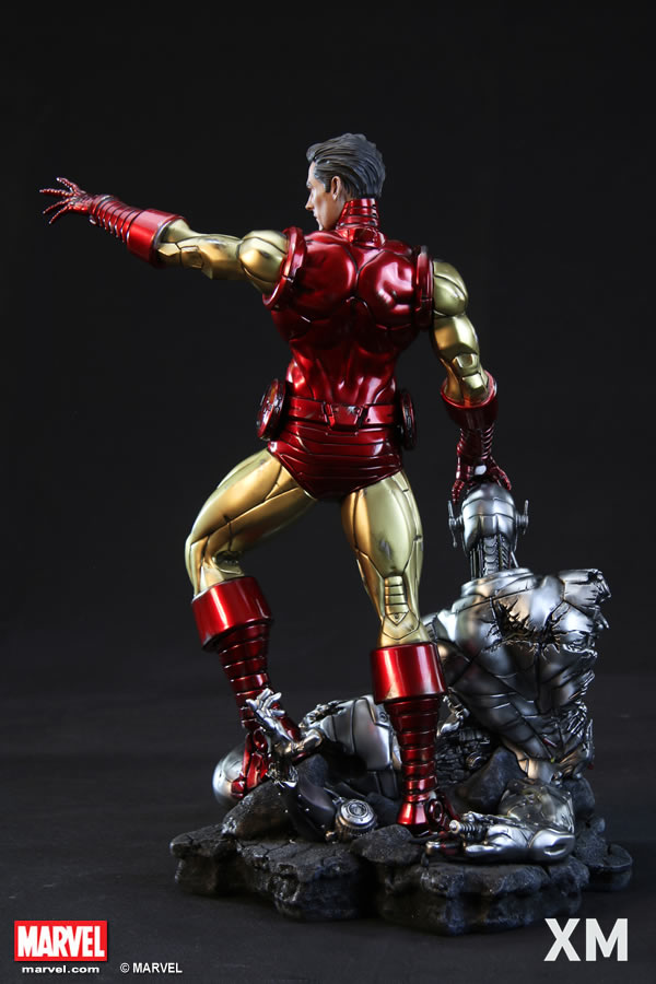 Premium Collectibles : Iron Man classic XM-iron-man-classic-premium-08