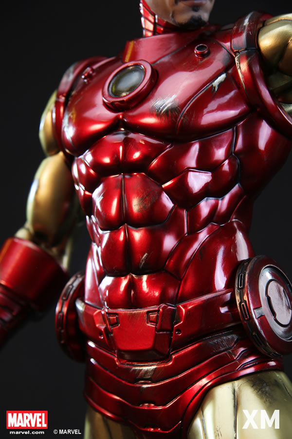 Premium Collectibles : Iron Man classic XM-iron-man-classic-premium-09