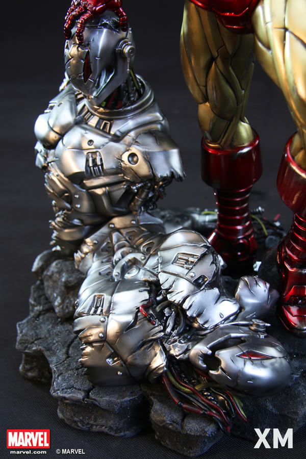Premium Collectibles : Iron Man classic XM-iron-man-classic-premium-10