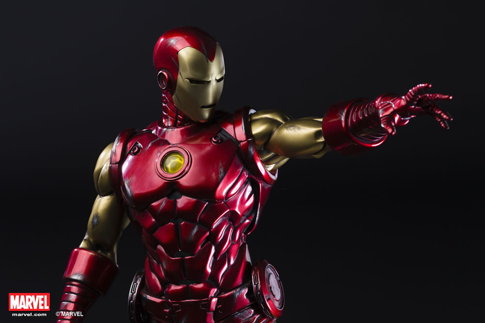 Premium Collectibles : Iron Man classic XM-iron-man-classic-premium-11