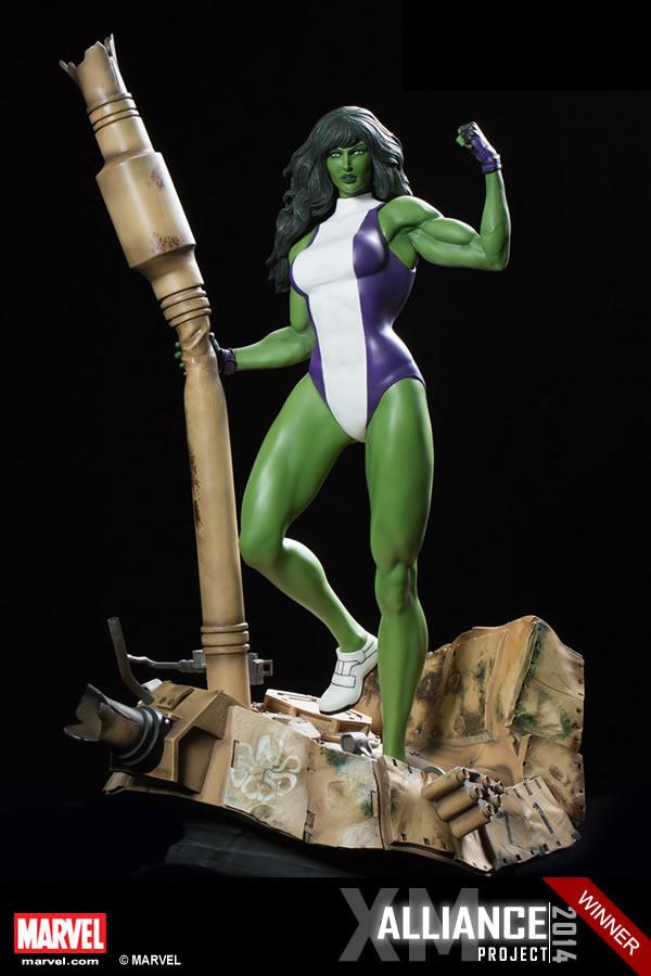 Premium Collectibles : She Hulk XM-she-hulk-premium-01