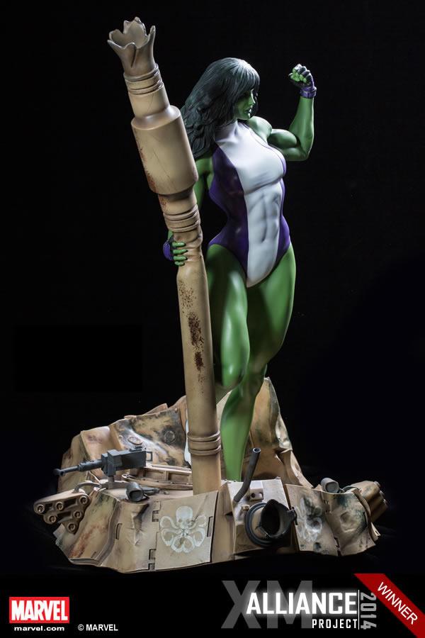 Premium Collectibles : She Hulk XM-she-hulk-premium-08