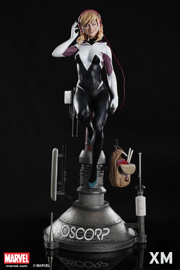 Premium Collectibles : Spider-Gwen XM-spider-gwen-premium-01