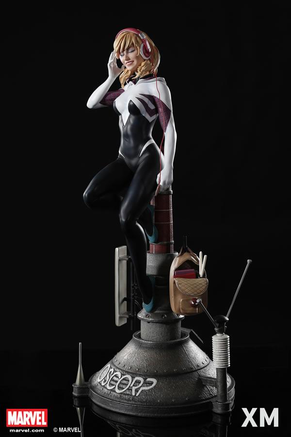 Premium Collectibles : Spider-Gwen XM-spider-gwen-premium-04