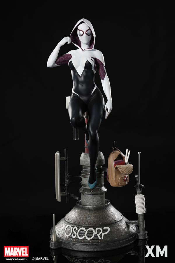 Premium Collectibles : Spider-Gwen XM-spider-gwen-premium-06