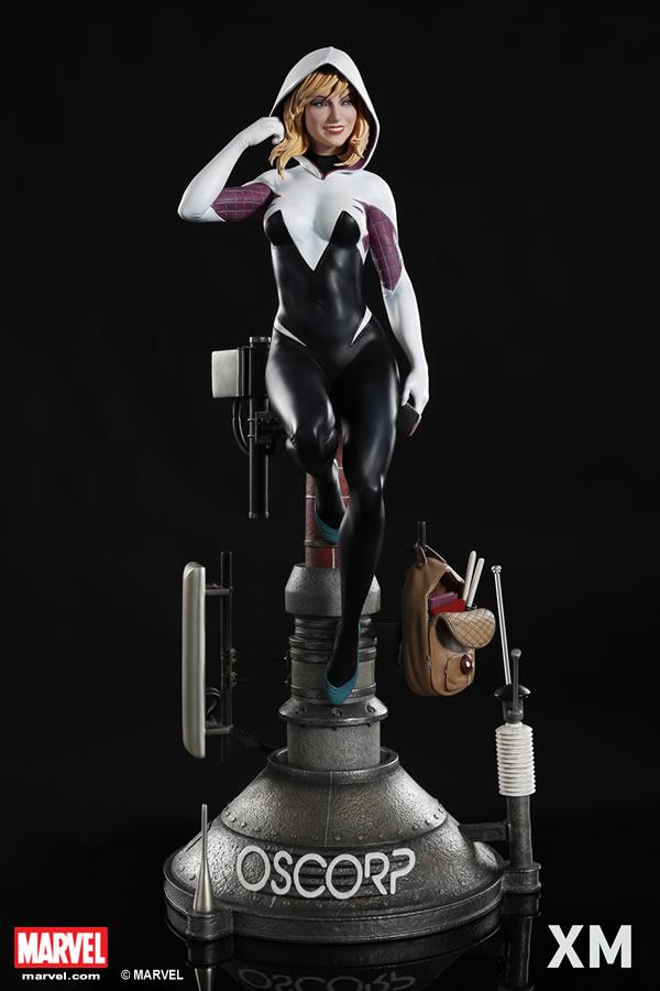 Premium Collectibles : Spider-Gwen XM-spider-gwen-premium-09