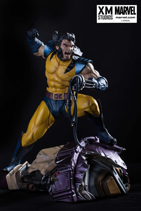 Premium Collectibles : Wolverine - Comics Version XM-wolverine-premium-04