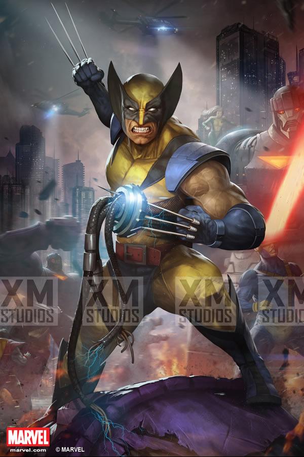 Premium Collectibles : Wolverine - Comics Version XM-wolverine-premium-10