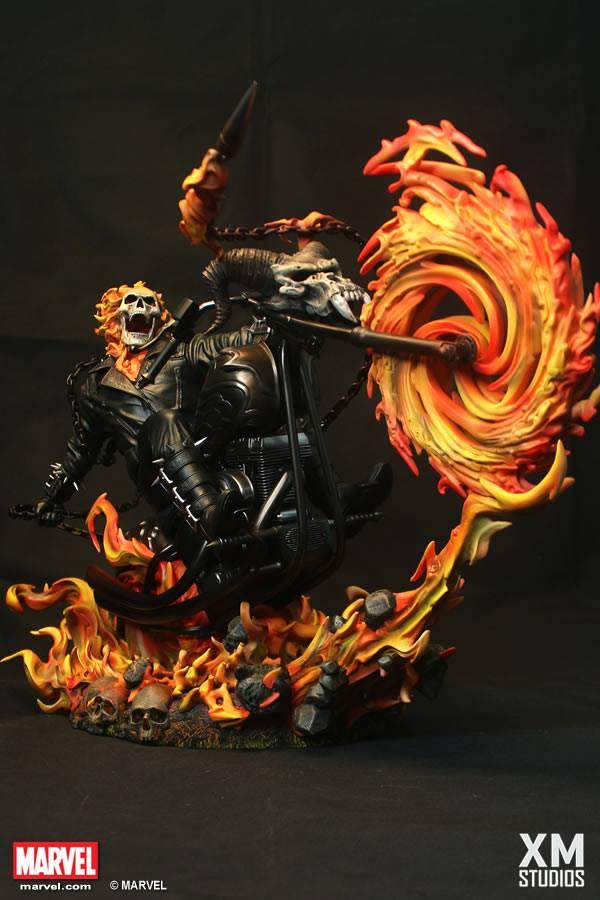 Premium Collectibles : Ghost Rider XMSTUDIOS_GHOSTRIDER_1