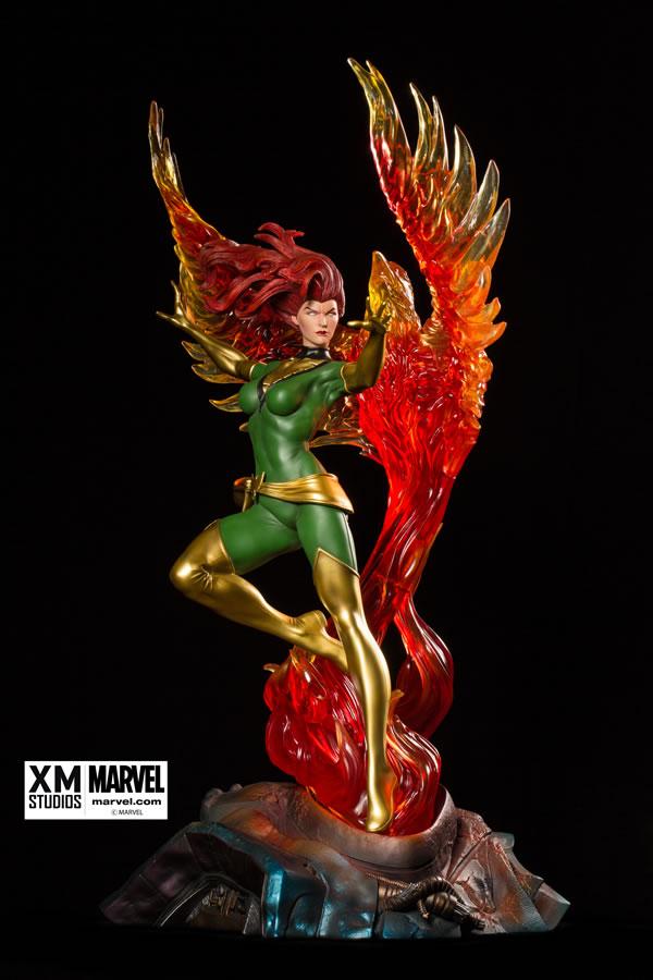 Premium Collectibles : Jean Grey - Phoenix  Xm-Phoenix-premium-01