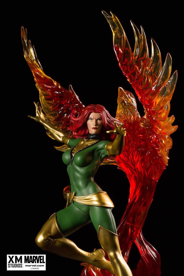 Premium Collectibles : Jean Grey - Phoenix  Xm-Phoenix-premium-02