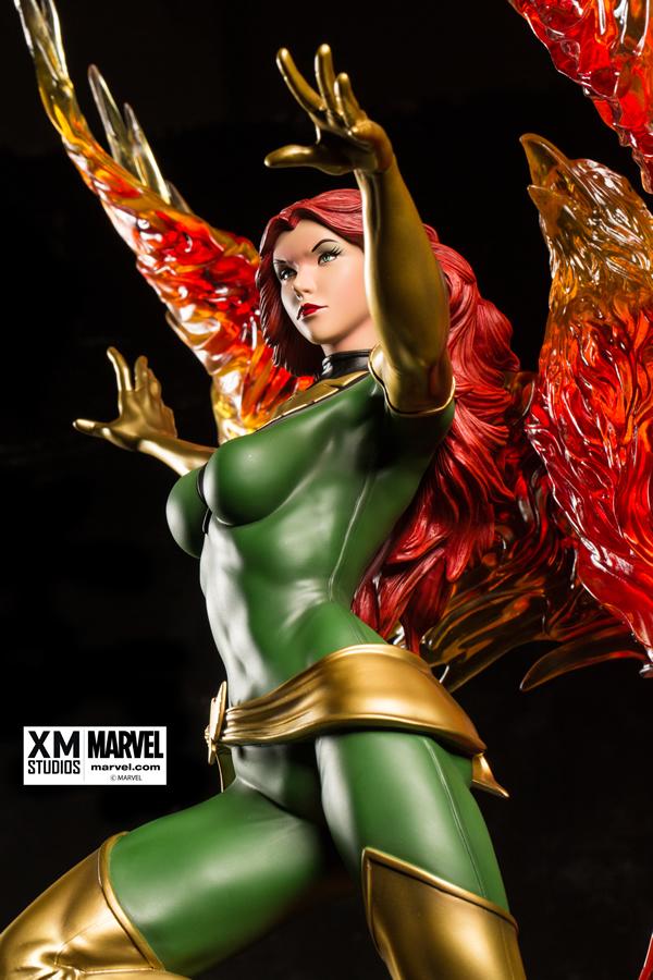Premium Collectibles : Jean Grey - Phoenix  Xm-Phoenix-premium-04
