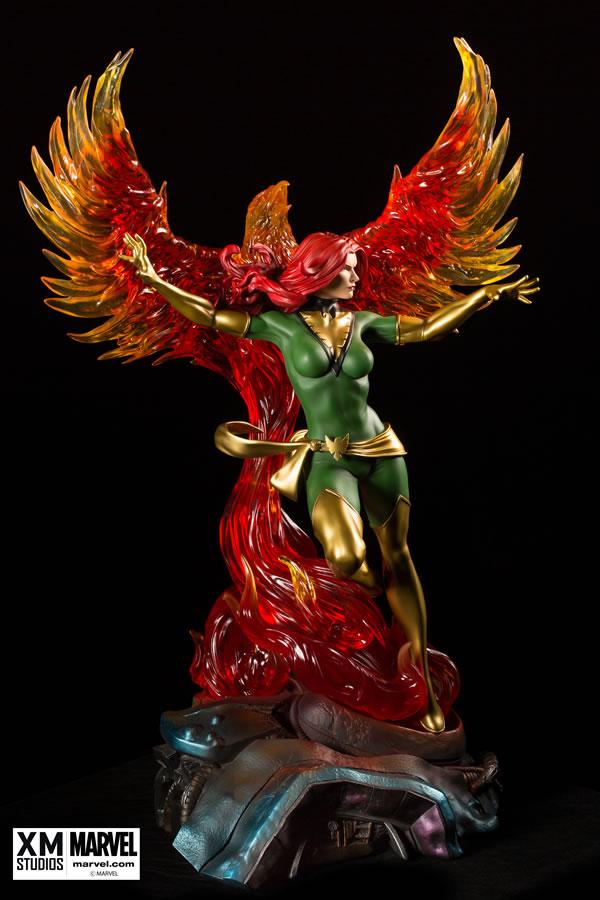Premium Collectibles : Jean Grey - Phoenix  Xm-Phoenix-premium-05