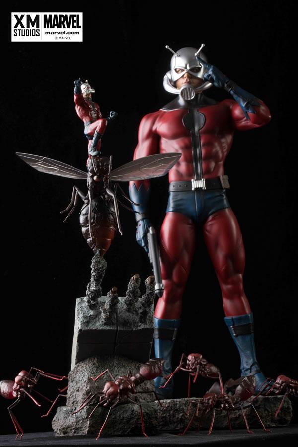 Premium Collectibles : Antman - Comics Version Xm-ant-man-premium-01