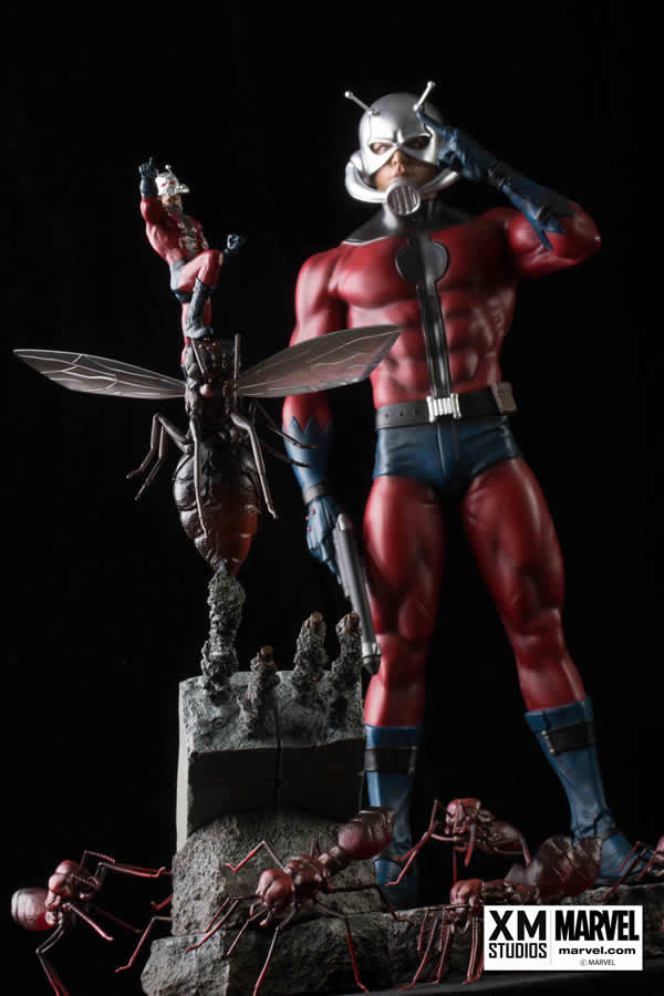 Premium Collectibles : Antman - Comics Version Xm-ant-man-premium-10