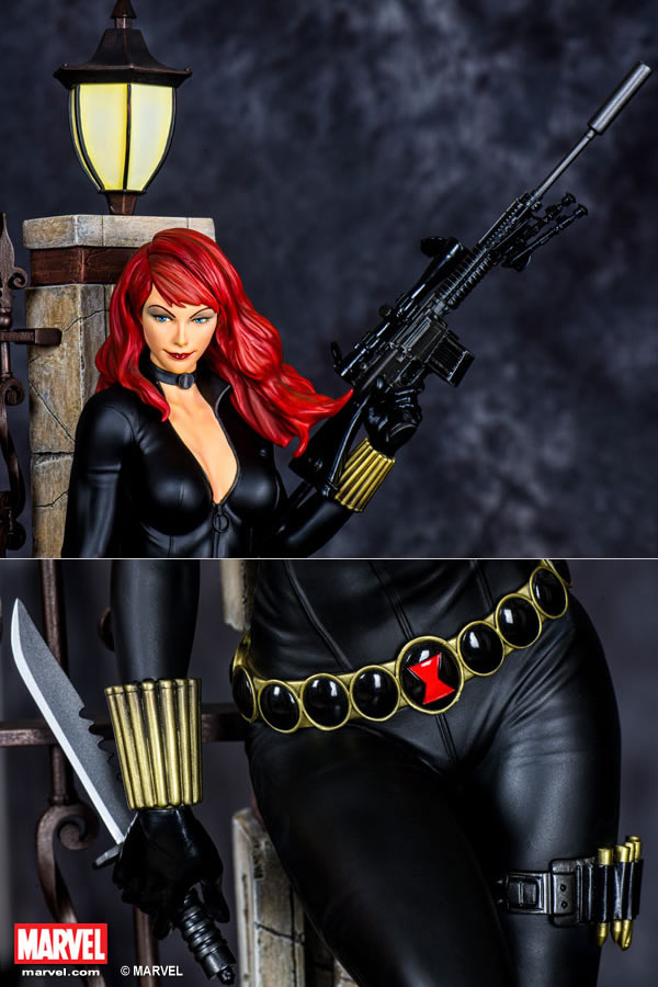 Premium Collectibles : Black Widow - Comics version Xm-black-widow-premium-04