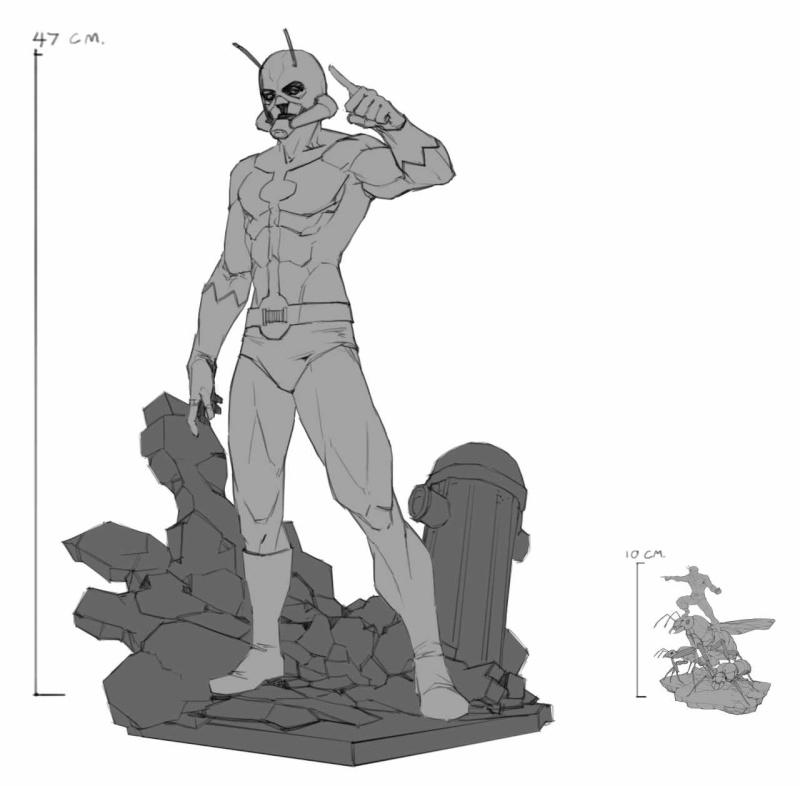 Premium Collectibles : Antman - Comics Version Image_1472998683