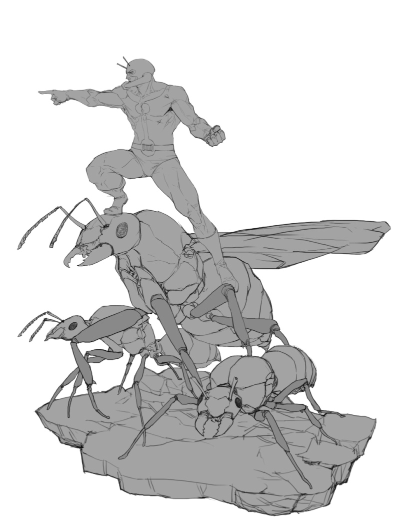 Premium Collectibles : Antman - Comics Version Image_1472998726