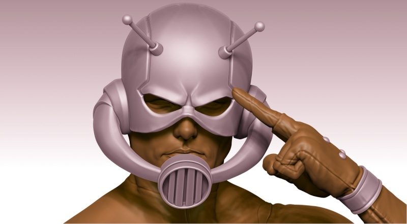 Premium Collectibles : Antman - Comics Version Image_1472998768
