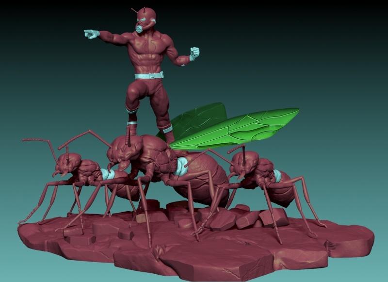 Premium Collectibles : Antman - Comics Version Image_1472998858