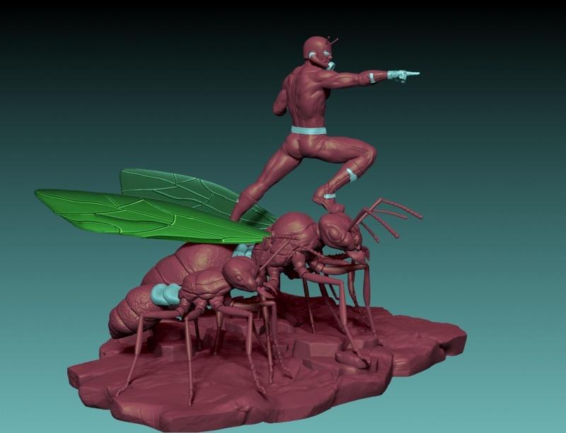 Premium Collectibles : Antman - Comics Version Image_1472998898