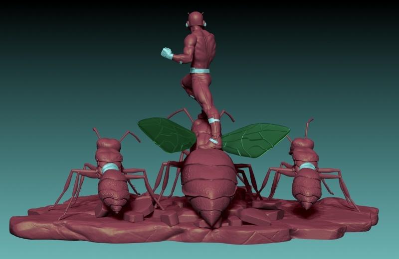 Premium Collectibles : Antman - Comics Version Image_1472998936