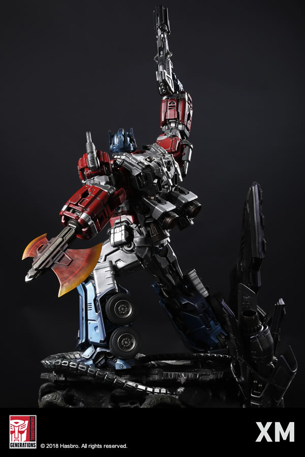Premium Collectibles : Transformers - Optimus Prime (G1) XM-optimus-premium-04