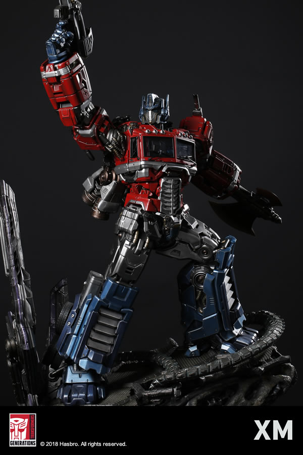 Premium Collectibles : Transformers - Optimus Prime (G1) XM-optimus-premium-05