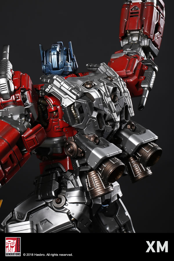 Premium Collectibles : Transformers - Optimus Prime (G1) XM-optimus-premium-09
