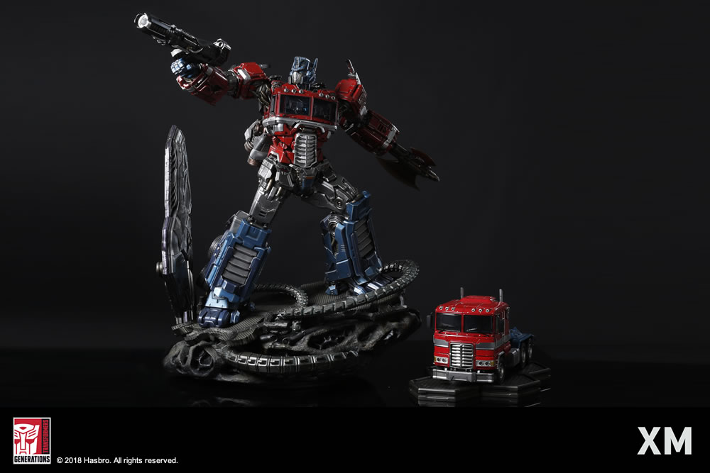Premium Collectibles : Transformers - Optimus Prime (G1) XM-optimus-premium-17