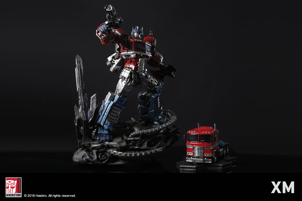 Premium Collectibles : Transformers - Optimus Prime (G1) XM-optimus-premium-18