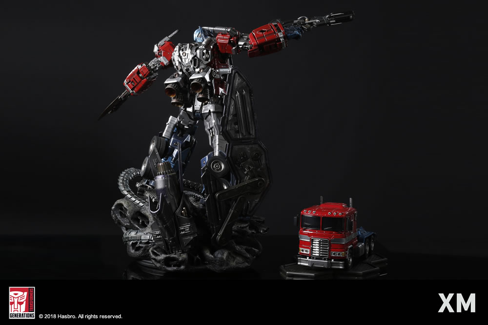 Premium Collectibles : Transformers - Optimus Prime (G1) XM-optimus-premium-19