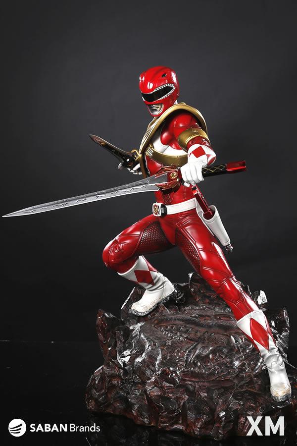 Premium Collectibles : Power Ranger Red XM-power-ranger-red-premium-05