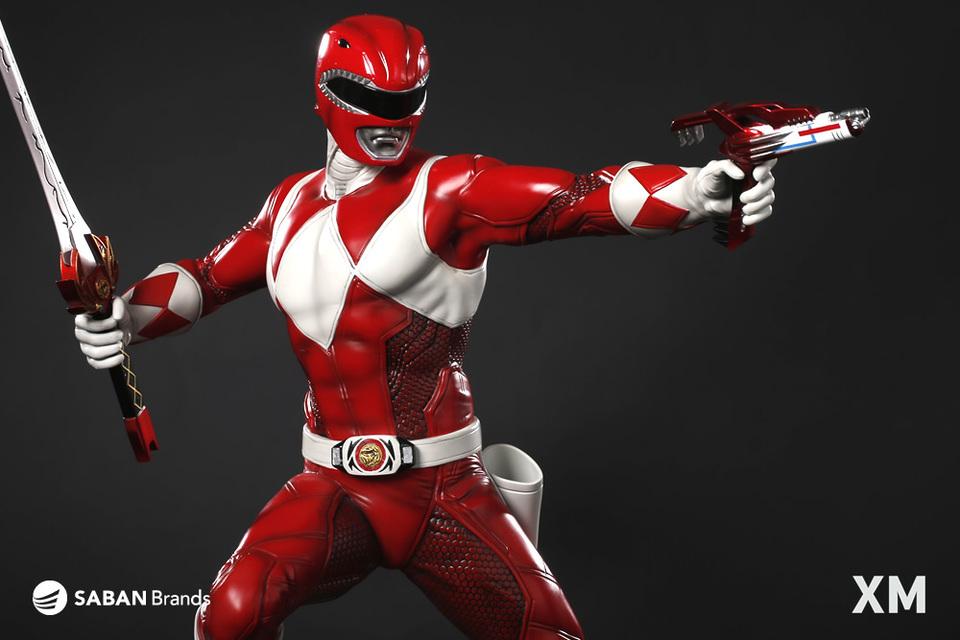 Premium Collectibles : Power Ranger Red XM-power-ranger-red-premium-09