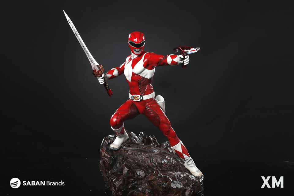 Premium Collectibles : Power Ranger Red XM-power-ranger-red-premium-10