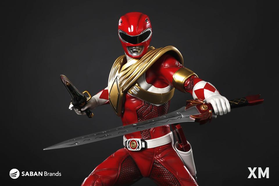 Premium Collectibles : Power Ranger Red XM-power-ranger-red-premium-13