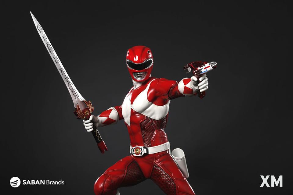 Premium Collectibles : Power Ranger Red XM-power-ranger-red-premium-14