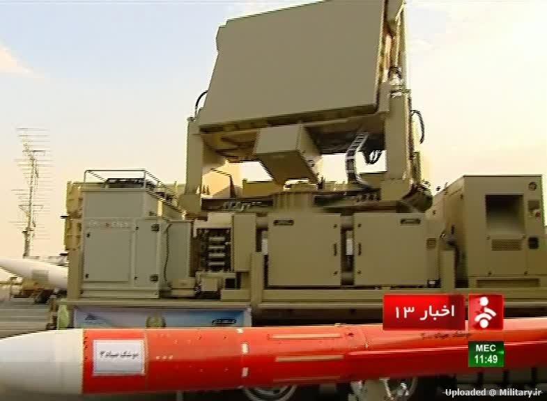 إيران تكشف عن منظومة متطورة للدفاع الجوي في استعراض عسكري ضخم  1_28829
